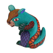 OTTER Oaxacan Alebrije Animal Wood Carving Hand-made Mexican Folk Art Sculpture
