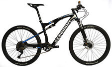 "STRADALLI CARBON DUAL SUSPENSION MOUNTAIN BIKE BICYCLE MTB 18"" L 27.5 650B XT"