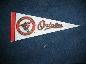 Baltimore Orioles 1970's mini pennant