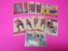 LOT 12 CARDS PARKHURST REPRINT CARDS 1992-93 SAWCHUK- GODFREY-JOHNSON- GOYETTE
