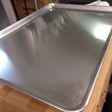 "Lot of 12 Full Size 19 Gauge Aluminum Bun Pan / Sheet Pan 18"" x 26"" Bakery Bake"