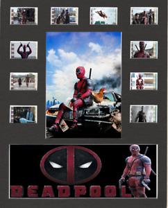 Deadpool Replica Film Cell Presentation 10x8 Mounted 10 Cells V3