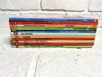 Disney's The Wonderful World Of Reading Children's Book Lot 11 Hardcover Books!