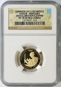 2010 Great Britain Gold 25 Pound London 2012 Olympics NGC PF70UCAM