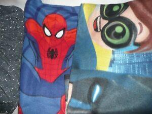 LEGO BATMAN MARVEL SPIDERMAN FLEECE THROW BLANKETS 🛏️STARWARS FIT SHEET SINGLE