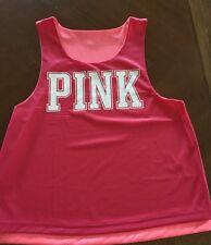 New Victoria's Secret Pink Reversible Jersey Super Cute- Wear 2 Ways