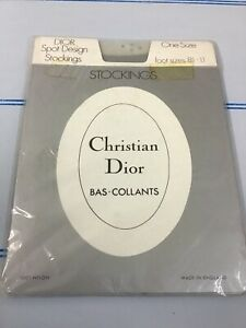 Christian Dior Spot Design Stockings
