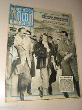 INCOM 1951/10=RITA HAYWORTH COVER MAGAZINE IN NAPOLI NAPLES=