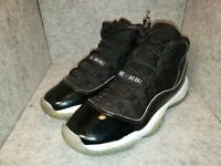 "Nike Air Jordan XI 11 Retro GS ""Space Jam"" 378038-003 Concord/Black/Wht Size 7Y"