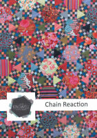 """Chain Reaction Quilt Pattern by Jen Kingwell  80"""" X 82"""" Honey Combs & Hexagons"""