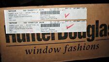 2 Hunter Douglas Silhouette Shades New In Box 54.25 x127 + 54.25 x 124.75 inches