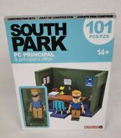 McFarlane South Park PC Principal & Principal's Office Construction Set New 2017