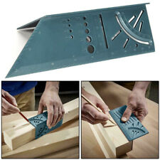 Woodworking Ruler 3D Mitre Angle Measuring Gauge Square Size Measure Tool