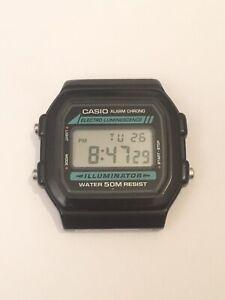Casio Watch Model W-86 [3298]Alarm Chrono Electro Luminescence Illuminator WR50M