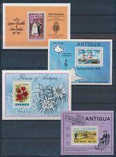 XC24006 Antigua mixed thematics sheets XXL MNH