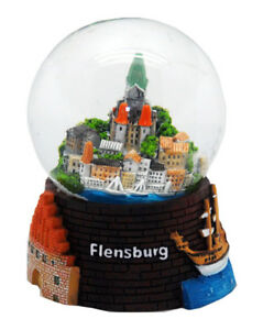 Souvenir Schneekugel Flensburg