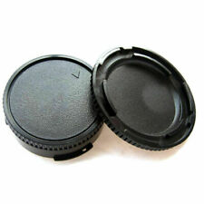 2pcs Body Cover Lens Rear Cap For CANON FD Camera Protect. Accessor and G3Z0