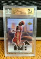 2003 Upper Deck City Heights LeBron James ROOKIE RC #NNO BGS 9.5 GEM MINT Lakers