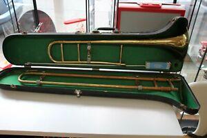 [2134] Posaune mit Koffer Instrumentenfabrik Ulm Brass