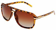PRIVE REVAUX ICON The Bruce Aviator Sunglasses Toirtoise