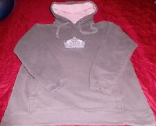 NHL WOMENS LOS ANGLES KINGS L/S HOODIE SWEATSHIRT PULLOVER GRAY Sz S - LAST ONE