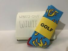 Golf Wang Flame Socks NEW [2 PAIRS]