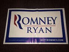 Mitt Romney Paul Ryan 2012 Republican President Campaign All Weather Yard Sign
