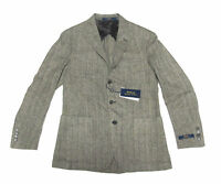 $895 Polo Ralph Lauren Mens Italy Wool Herringbone Sportcoat Blazer Jacket New