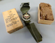 US NAVAL AVIATOR'S SURVIVAL WRIST COMPASS IN ORIGINAL BOX-MINT