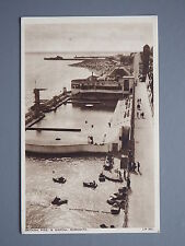 R&L Postcard: Bathing Pool & Marina Ramsgate, Pedal Boats, A H & S