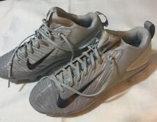*MEN'S * NIKE *MIKE TROUT 27 * BASEBALL CLEATS * SIZE 11  GRAY SHOES *