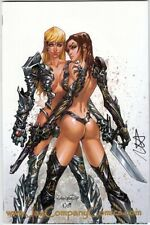 Witchblade #109 NM/NM+ Jay Company Long Beach Comic Con Ltd 500 Signed Ruffino