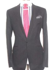 MENS  LUXURY  JAEGER  LONDON  LINE  PINSTRIPES  THE  SUIT  40UK   W34  XL32