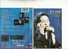 K.D. Lang-Live By Request-16 Tracks-2001-Music L-DVD