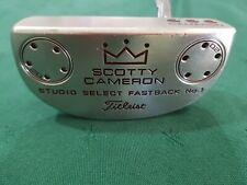 "Scotty Cameron Studio Select Fastback No 1 Putter. 35"""