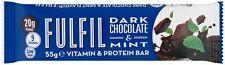 15 x El chocolate oscuro cumplir & Menta Vitamina & Protein barras gran sabor!! más valioso!