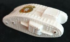 More details for world war one ceramic crested china mk iv tank by arcadian with gosport crest