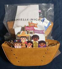 Disney Parks Exclusive It's A Small World Danielle Nicole Crossbody Bag New
