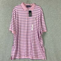 Polo Ralph Lauren Men's Classic Fit Striped Soft-Touch Polo Shirt Size XXL