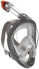 Mares Head Sea Vu Dry Full Face Snorkeling Mask Small/Medium VERY GOOD OPEN BOX