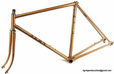 VINTAGE Race bike Olmo made in Italy Lugged Steel Frame set gipiemme dropouts