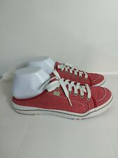Keds Red Polka-dot Shoes Sneakers Mules Lace Up Size 9 D954