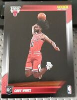 2019-20 Panini Instant Coby White RC Photo Shoot #/173 Bulls