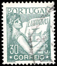Scott # 505 - 1933 - ' Portugal Holding Volume of Lusiads '