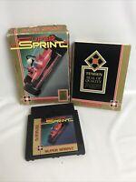 Super Sprint (Nintendo Entertainment System, NES) Tengen - Cart, Box & Sleeve