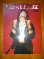 Piano/ Vocal/Guitar Songbook:  Melissa Etheridge  << Out of Print >>