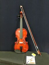 Caraya 1/16 Size Acoustic Violin w/Bow,Chin Rest,Rosin,Bridge,Foam Case-Full Set