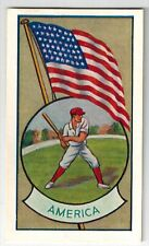 "Allens Sweets Collector Cards ""Sports & Flags"" (1936) - America / Baseball"