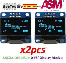 2pcs OLED 128X64 Display OLED LCD LED Display Module I2C IIC SPI Serial