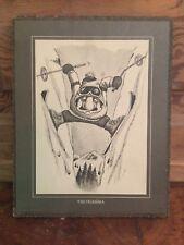 1975 Wallace Berrie The Dilemma Comical Ski Plaque